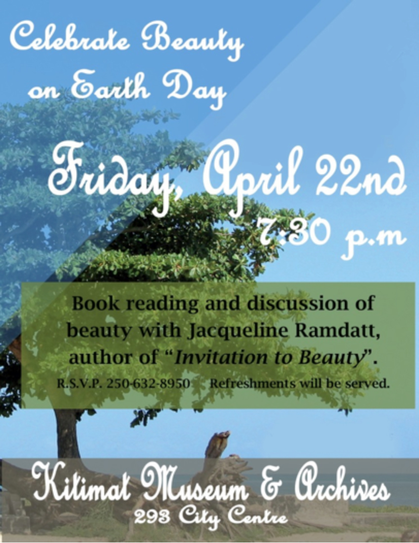 Earth Day Book Reading with Jacqueline Ramdatt